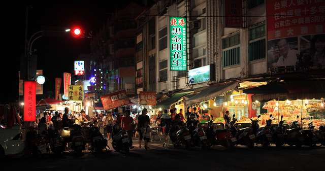 Taitung Tourism Night Market(Snack Street and Fruit Street)