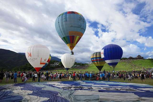 Luye Gaotai hot air balloon area