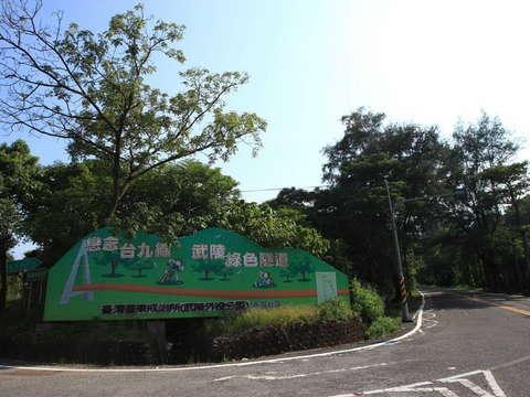 武陵緑のトンネル