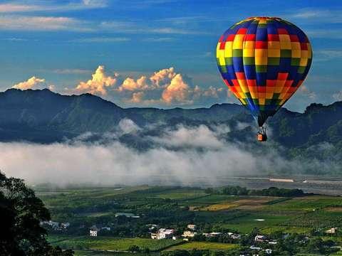 鹿野高台熱気球区