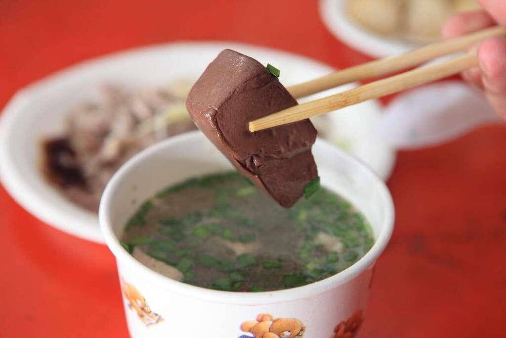 卑南豚の血のスープ