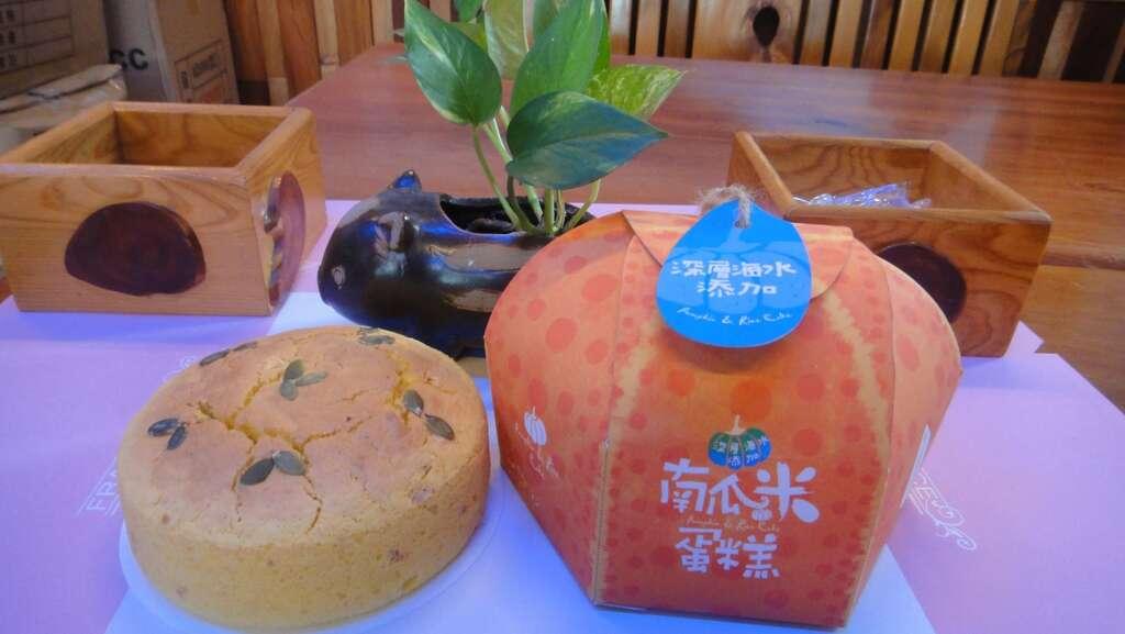 親水軒パンの店-南瓜米ケーキ